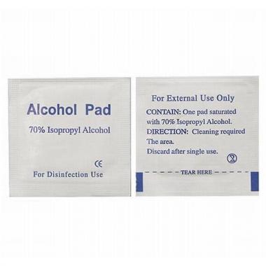 Alcohol + microvezel reinigingsdoek