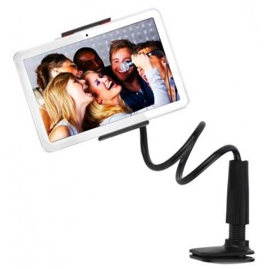 iPad houder met flexibele arm zwart