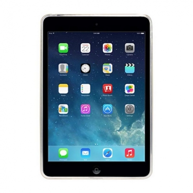 iPad Mini 4 siliconen backcover mat
