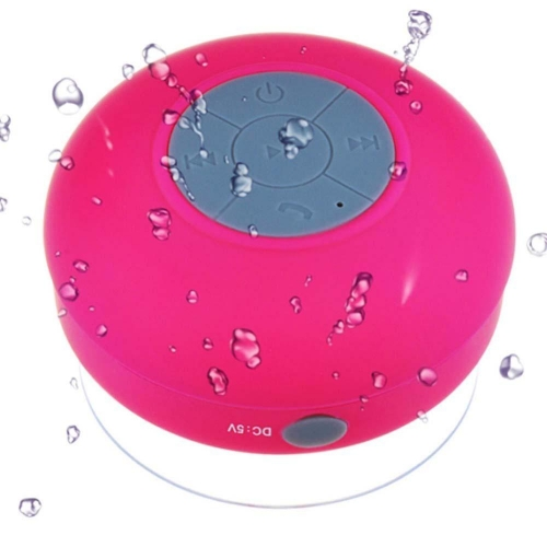 Bluetooth Badkamer Speaker Met Belfunctie Roze Ipadshop Be