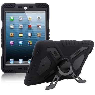 Pepkoo Spider Shockproof Case iPad Air zwart