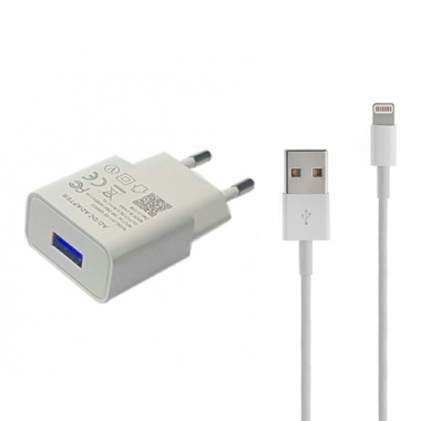 iPad oplader compact Lightning 1 meter wit
