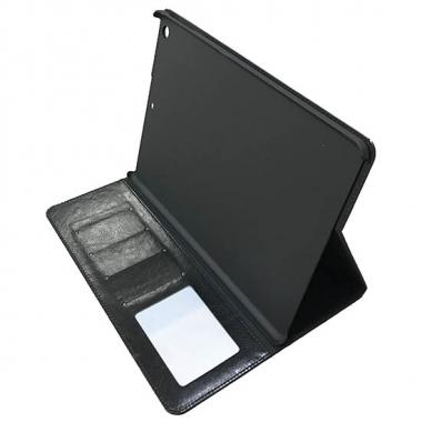 iPad Air book case met ruimte voor pasjes - zwart