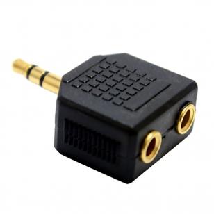 Hoofdtelefoon 3.5mm mini jack splitter
