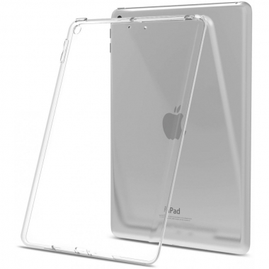 iPad (2017 / 2018) siliconen backcover transparant