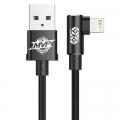 Baseus haakse Lightning naar USB kabel 2 meter