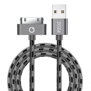 PZOZ iPad kabel 30-pins 50 centimeter nylon