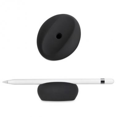 Siliconen houder voor Apple Pencil 1 zwart