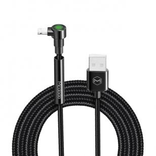 Mcdodo nylon haakse Lightning kabel met standaard 1,8 meter